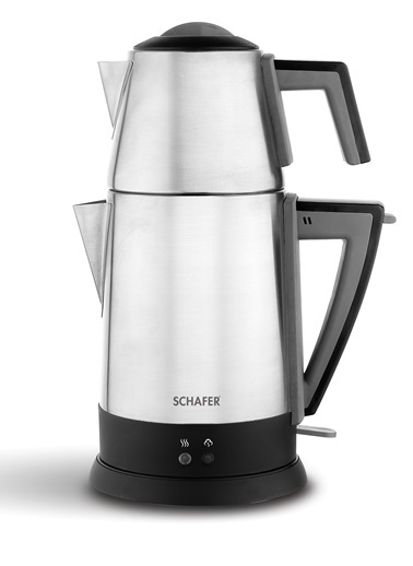 Schafer Teepoint Elektrikli Çay Makinesi - İnox Renkli